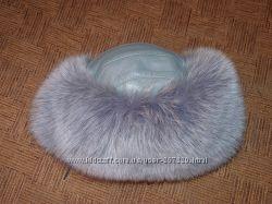 Продается шапка из песца в отличном состоянии