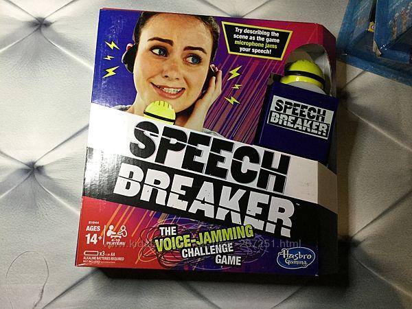 Speech Breaker Game Microphone Прерыватель речи, микрофон 100 карточек