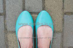 Балетки мод. Кензо голубые 39 размер в наличии Распродажа