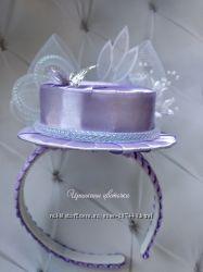 Шляпка на обруче для праздника