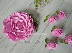 Шикарная роза из фоамирана