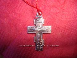 новый крестик, белое золото