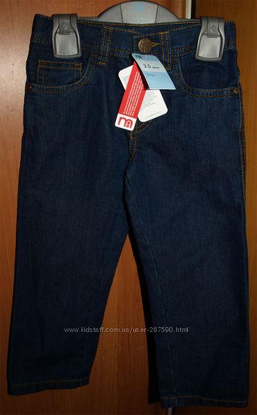 Новые классические джинсы на мальчика 2-3 года MOTHERCARE