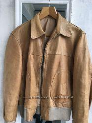 Куртка кожа L .