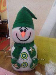 снеговики для декора