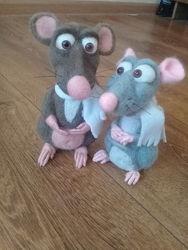 Крыса игрушка -сувенир