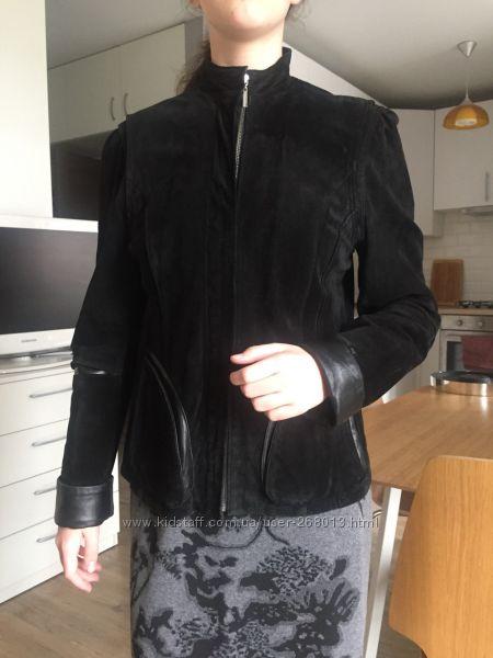 Пиджак из натуральной кожи размер L