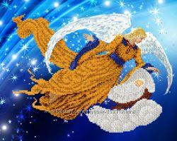 Ангелы - схемы для вышивки бисером