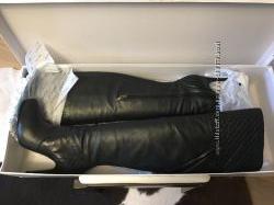 Сапоги ботфорты кожаные Guess Р. 39 на 38