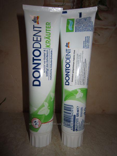 DONTODENT, Krauter, зубная паста, 125мл