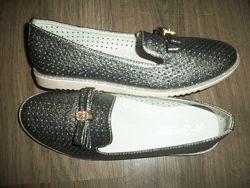 нарядные туфли балетки 36 размер Bessky