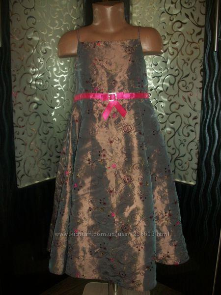 нарядное платье 6-7 лет Ladybird Ледибед