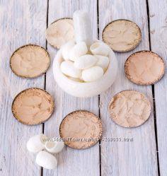 Шелковая маскирующая лечебная пудра для сухой, жирной, всех типов
