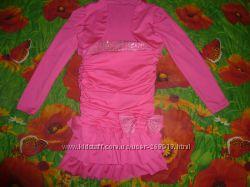 Комплект  платье без брителек болеро