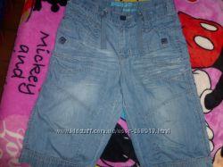 Стильные джинсовые шорты на мальчика 9-лет