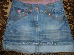 Модная джинсовая юбочка