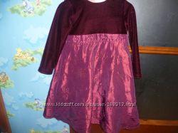 Нарядное платье для девочки 2-3 лет