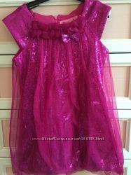 Платье Barbie из паеток Очень блестит 110-116см.