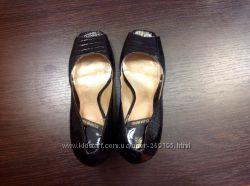 Лакированные кожаные туфли Dumond - 40р, 26 см