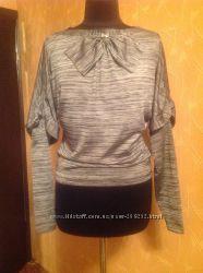 Нарядная блуза-трансформер со съёмными рукавами