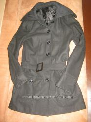 Необычное шерстяное пальто