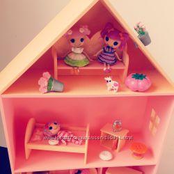 Домик с мебелью для lalaloopsy и других маленьких куколок .