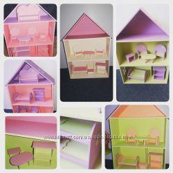 Домики с мебелью для куколок lalaloopsy