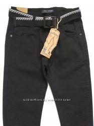 Брюки джинсы школьные черные 134- 176 размер Венгрия Taurus