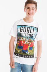 Футболка мальчику  р. 158-164 Футбол сборная Испании C&A Германия