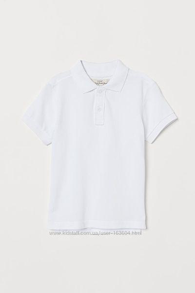 Поло мальчикам H&M 122-128, 134-140 тенниска, рубашка