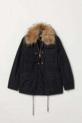 Парка куртка женская H&M р. 36 S8, 38 М10