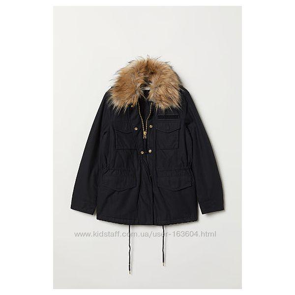 Парка куртка женская демисезонная H&M р. 36 S-М