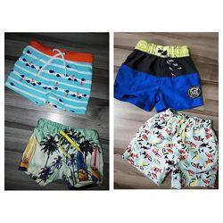 Плавки и пляжные шорты для модного мальчика 6-9-12-18 месяцев