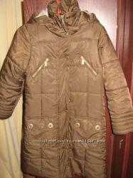 пальто на девочку на синтепоне