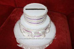 Свадебный торт под открытки