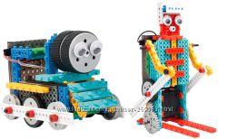 Конструктор на ик LongYeah R722 4-в-1 паровозик, машинка, лыжник, робот