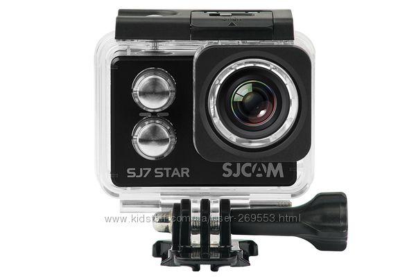 Экшн камера SJCam SJ7 STAR 4K Wi-Fi оригинал черный