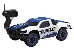 Машинка радиоуправляемая 1к43 HB Toys Muscle полноприводная синий