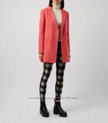 Коралловое пальто NEW LOOK