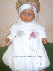 Обворожительные наряды для маленькой принцессы 3-6 месяцев