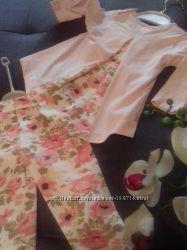 Стильные турецкие комплекты для юных принцесс стильная туничка и легинсы.