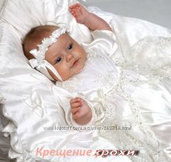 Расспродажа красивейших комплектов для крещения на девочку
