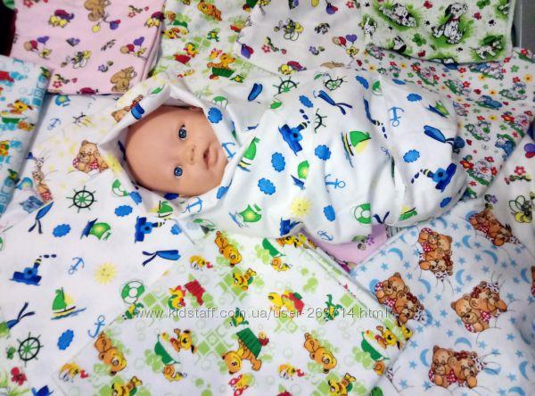 Продам детские пеленки байковые фланелевые бязевые 95х110 по приятным  ценам, 33 грн. Детские полотенца и пеленки - Kidstaff   №8686344 5964cde39c2