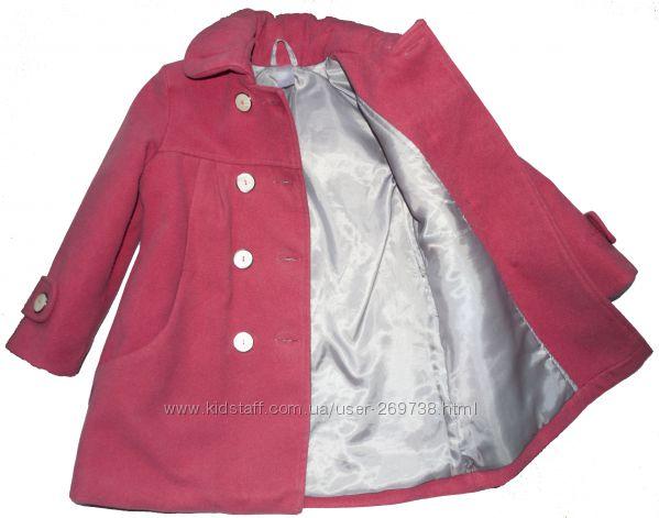 Утеплённое пальто для маленькой леди