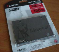 новые SSD Kingston 2. 5 120GB и 240Gb ноутбука компа A400 Гарантия 36 мес