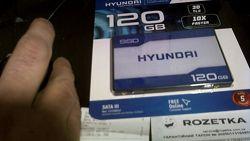 SSD Гарантия 5ЛЕТ от розетки Hyundai Sapphire 120GB Для ноутбука ПК