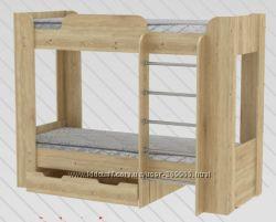 Двухярусная кровать из ДСП