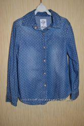 Стильные джинсовые рубашки 3 шт