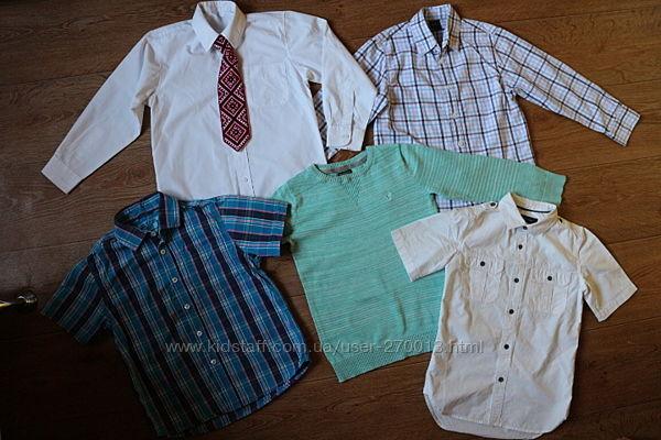 Комплект рубашек на 7-8 лет.