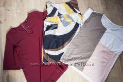 фирменные блузки футболки 14 размер Dorothy perrkins F&F